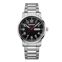 Wenger Attitude Heritage Men's 42mm Stainless Steel Bracelet Watch