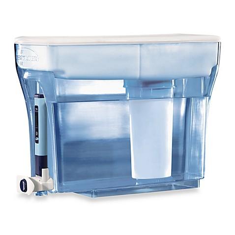 zerowater 23 cup dispenser water filtration system bed bath beyond. Black Bedroom Furniture Sets. Home Design Ideas