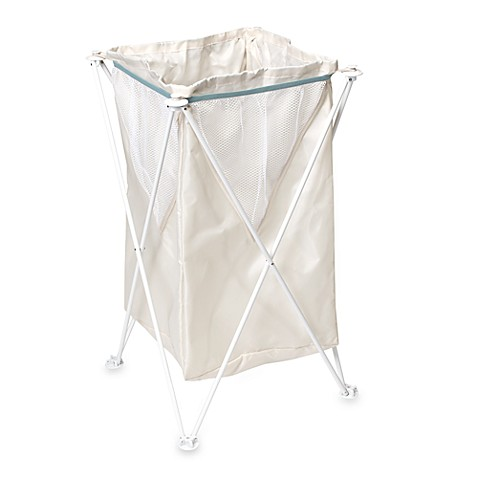 Real Simple® Fold-Away Hamper
