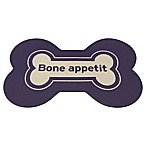 Bone Appetit Pet Mat in Blue