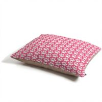 Deny Designs Paw Prints by Allyson Johnson Pet Bed in Pink