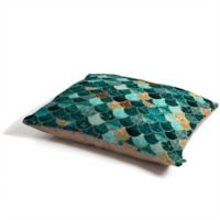 Deny Designs Monika Strigel Really Mermaid Pet Bed in Turquoise