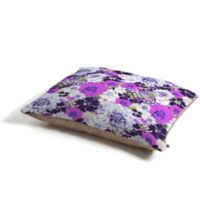 Deny Designs Aimee St. Hill Croc and Flowers Pet Bed in Purple