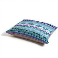 Deny Designs Iveta Abolina Tribal Pet Bed in Blue