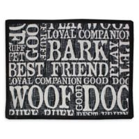 "Park B. Smith ""Woof Words"" Pet Placemat"