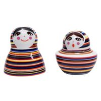 Multiple Choice 2-Piece Striped Doll and Pepper Set