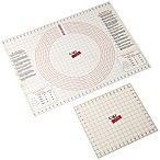 CakeBoss™ Decorating 2-Piece Roll & Cut Mat Set in Off White