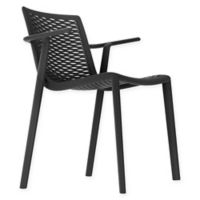 Resol Net-Kat All-Weather Armchairs in Black (Set of 2)