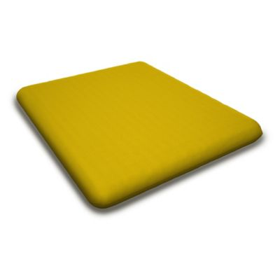 Outdoor Seashell Casual Chair Cushion In Sunbrella® Yellow