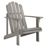 Safavieh Topher Adirondack Chair in Grey Wash