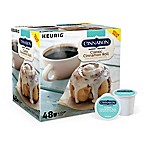 Keurig® K-Cup® Pack 48-Count Cinnabon® Classic Cinnamon Roll Light Roast Coffee