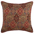 Hitchin Square Throw Pillow in Red