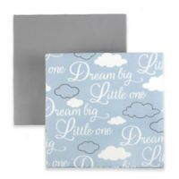 "Tadpoles ""Dream Big"" Fitted Crib Sheets in Blue (Set of 2)"