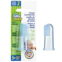 Baby Buddy Silicone Finger Toothbrush in Blue
