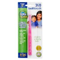 Baby Buddy 360 Step 1 Soft Toothbrush in Pink