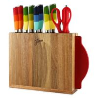 Fiesta® 12-Piece Multicolor Mixed Knife Block Set