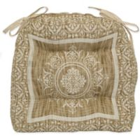 Brentwood Originals Venice Medallion Chair Pad in Sand