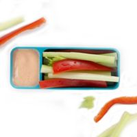 Trudeau® Fuel Snack 'n Dip Container in Tropical Blue