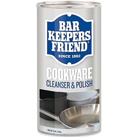 bar keeper 39 s friend 12 ounce cookware cleaner bed bath beyond. Black Bedroom Furniture Sets. Home Design Ideas