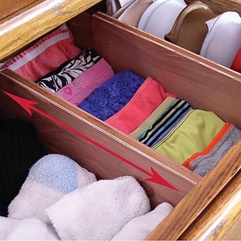 cedar dresser drawer dividers set of 2