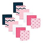 Luvable Friends® Fancy Chevron 12-Pack Terry Washcloths in Pink