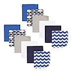 Luvable Friends® Fishes 12-Pack Terry Washcloths in Blue