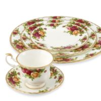 Royal Albert 20-Piece Dinnerware Set in Old Country Roses