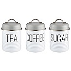 Typhoon® Vintage Mayfair 3-Piece Canister Set
