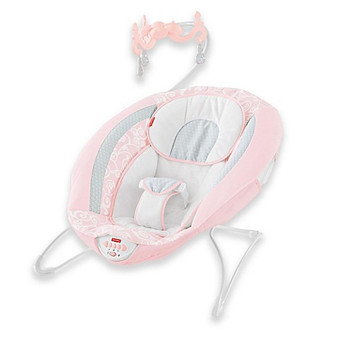 fisher price pearl chandelier deluxe bouncer bed bath beyond