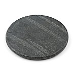 Thristystone® Round Marble Trivet in Black