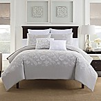 Bridge Street Anabelle Reversible King Comforter Set in Grey