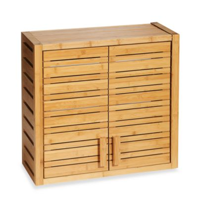 Bamboo Wall Cabinet Bathroom. Bamboo Wall Cabinet