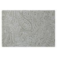 Waterford® Linens Esmerelda Placemats in Platinum (Set of 4)