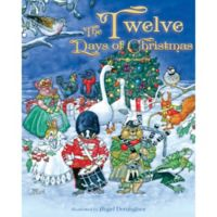 """The Twelve Days of Christmas"" Vintage Board Book"
