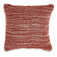 Textured Baubles Pillow in Red