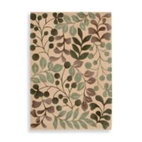 Nourison Contours 7-Foot 3-Inch x 9-Foot 3-Inch Room Size Rug in Vanilla