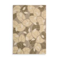 Nourison Fantasy Multi Color Leaf 5-Foot x 7-Foot 6-Inch Room Size Rug