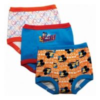 Disney® Size 3T 3-Pack Mickey Mouse Training Pant
