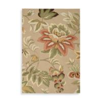 Nourison Fantasy Floral 1-foot 9-Inch x 2-Foot 9-Inch Area Rug in Beige
