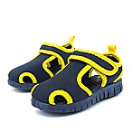 Stepping Stones Size 5 Casual Water Shoe in Navy/Yellow