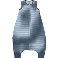 Woolino Size 18-36M Striped Wearable Blanket in Navy