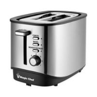 Magic Chef® Stainless Steel 2-Slice Toaster