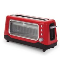 Dash™ Clear View 2-Slice Toaster in Red