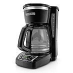 Black & Decker™ 12-Cup Programmable Coffee Maker in Black