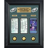 NFL Philadelphia Eagles Super Bowl 52 Champions Deluxe Ticket Collection