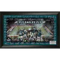 NFL Philadelphia Eagles Super Bowl 52 Champions Signature Grid Frame