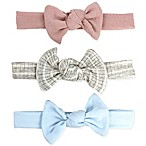 Tiny Treasures 3-Pack Girls Knot Headbands