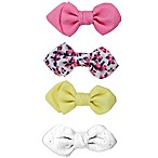 Tiny Treasures 3-Pack Girls Mini Knotted Bow Clips