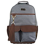 Itzy Ritzy® Boss Backpack Diaper Bag in Heather Grey