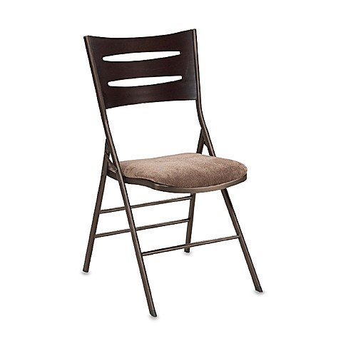 Wood And Metal Folding Chair Bed Bath Amp Beyond